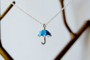 Let the Rain Come necklace from Enchanted Leaves